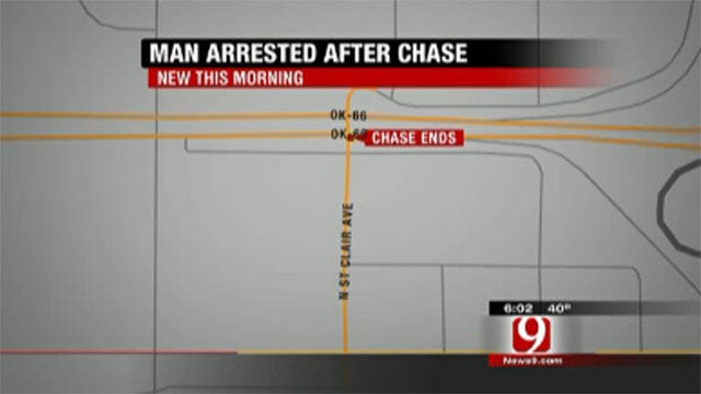 Authorities Identify Suspect In Oklahoma City High-Speed Chase