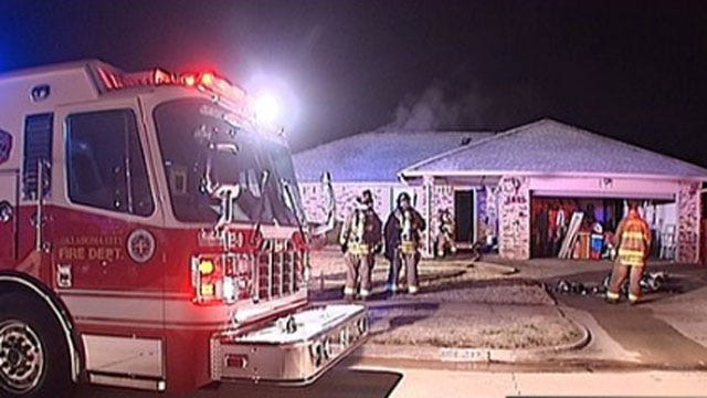 Fire Damages OKC House For Sale