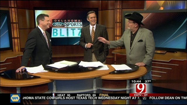 Voice Of WWE Jim Ross Drops By The Oklahoma Ford Sports Blitz