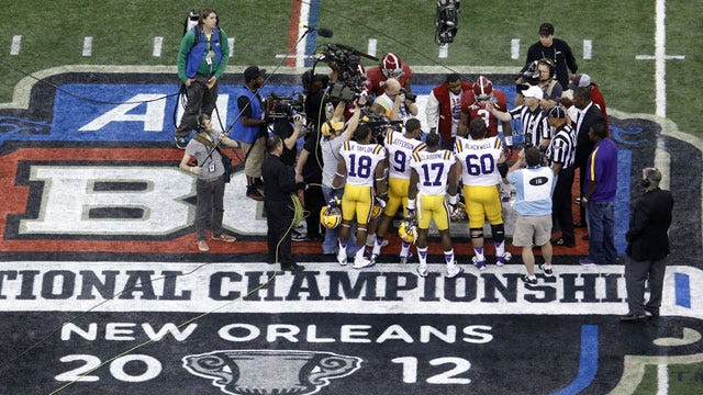 Committee Starts Meetings To Determine Potential BCS Changes