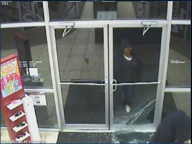 Criminals Bust Through Door To Rob Oklahoma City Store