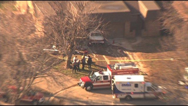 Second Shooting Victim Found After OKC Car Crash Dies