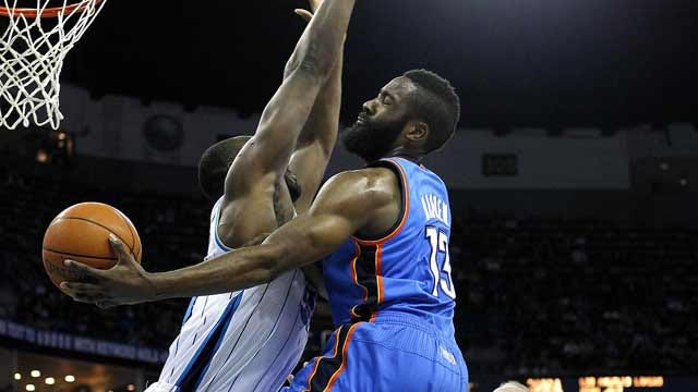 Strong Bench Play Helps Thunder To Fifth-Straight Win