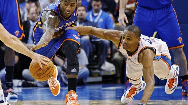Thunder Run Past Carmelo-Less Knicks For Sixth Straight Win