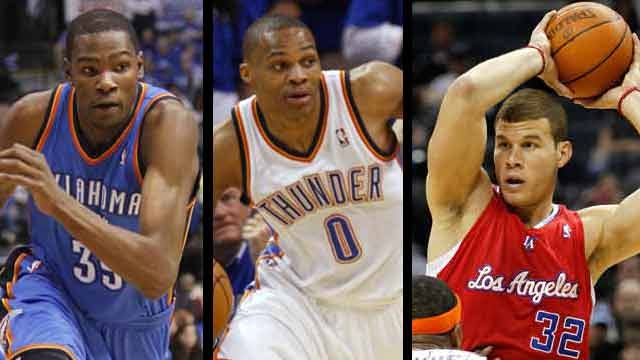 Durant, Westbrook, Griffin Named Finalists For 2012 Olympics