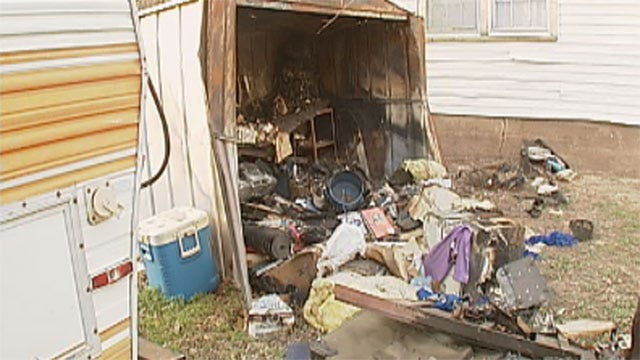 Guthrie Teen Accused Of Setting Neighbor's Shed, Grandma's Home On Fire
