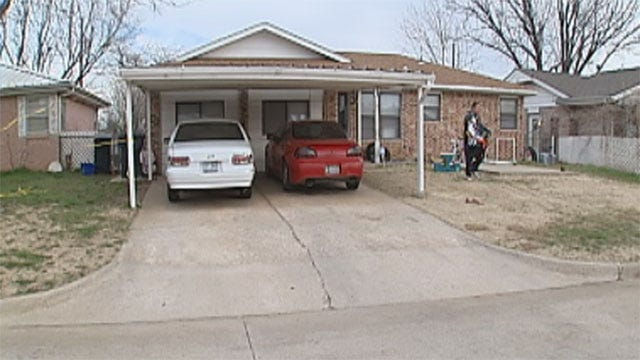 Neighbors Respond To Southwest OKC Homicide