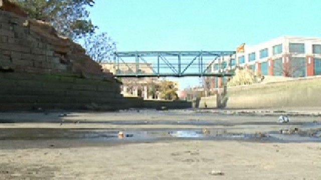 Cleaning Oklahoma City's Bricktown Canal A Dirty Job