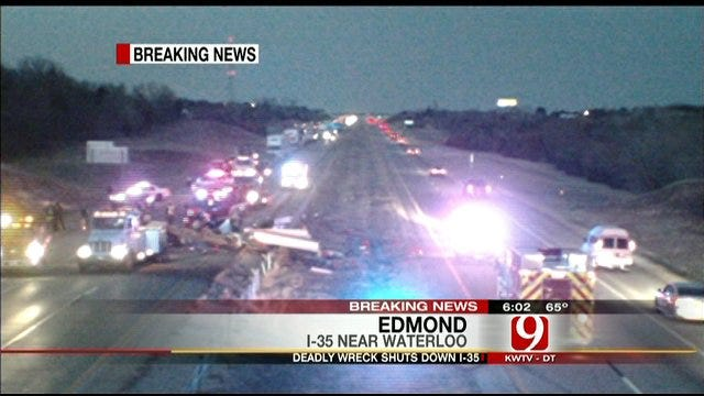 Driver Killed In I-35 Crash In Logan County Identified
