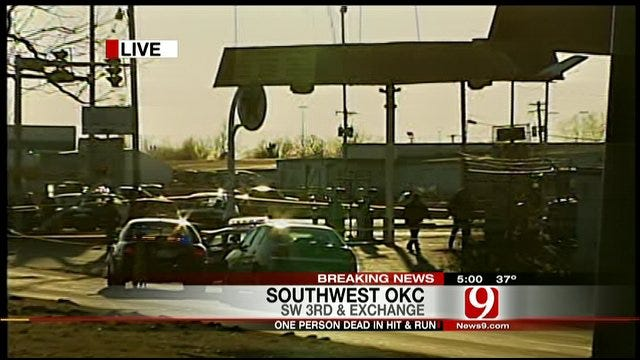 Police: Man Killed In Southwest OKC Hit-And-Run
