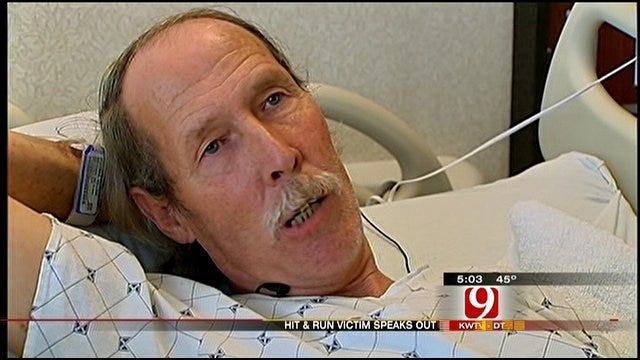 Bicyclist Injured In OKC Hit-And-Run Speaks