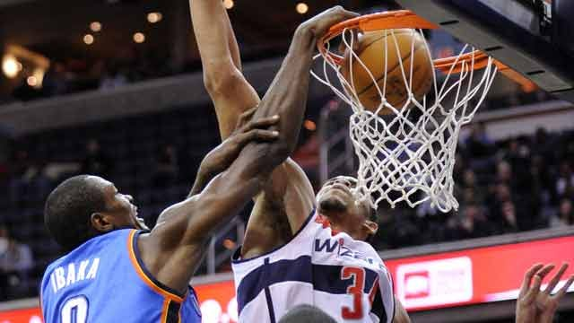 Last Place Wizards Upset Thunder 105-102