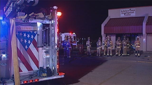 Christmas Tree May Be To Blame For OKC Daycare Fire
