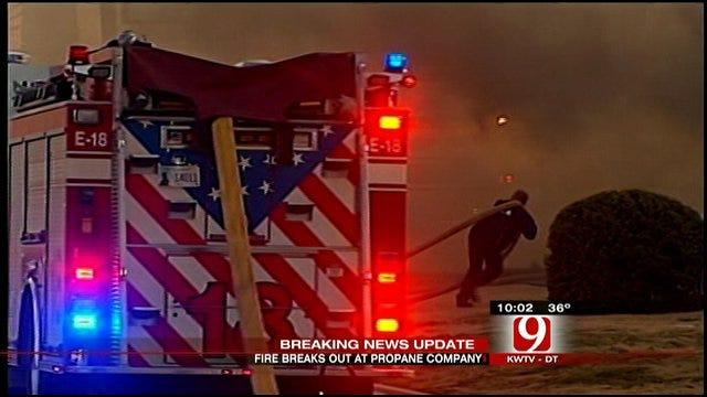 Four-Alarm Fire Causes Metro Traffic Headaches