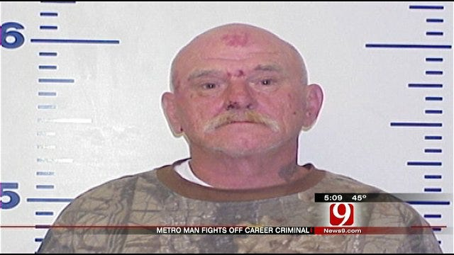 Guthrie Plumber Takes Thief Down