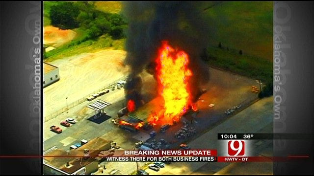 OKC Propane Company Blaze Raises Bad Memories