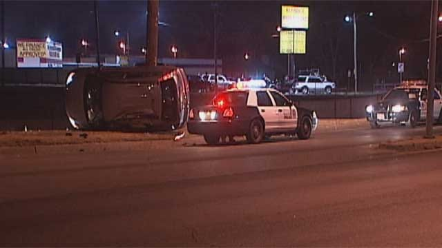 Police Chase In SW OKC Ends With Crash, One Arrest