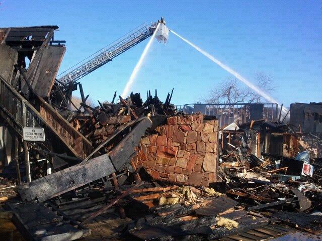 Fire Destroys 16-Unit Ardmore Apartment Building