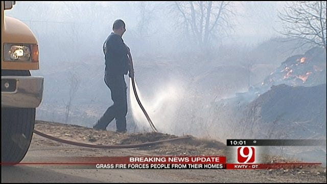 Fire Rousts Residents From Norman Mobile Home Park