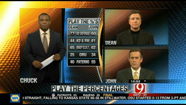 Play the Percentages: Jan. 21, 2012