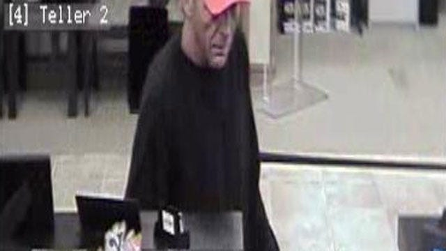 OKC Bank Robbery Suspect Pretends To Open Account