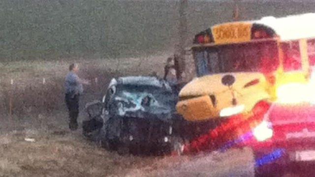 Children Injured In Harrah School Bus Crash