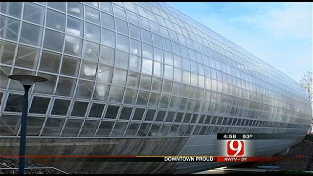 OKC 'Downtown Proud' of Crystal Bridge