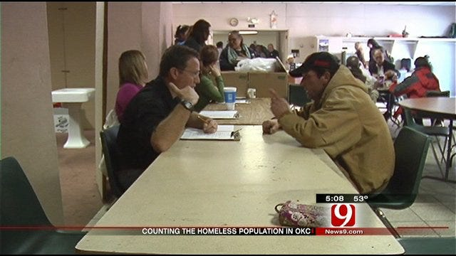 OKC Uses Yearly Count to Determine Homeless Needs