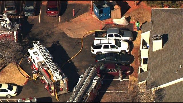 Crews Extinguish Fire At Northwest OKC Apartment