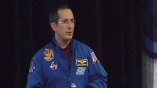 Oklahoma Astronaut: Outer Space Could Be Close As A College Degree