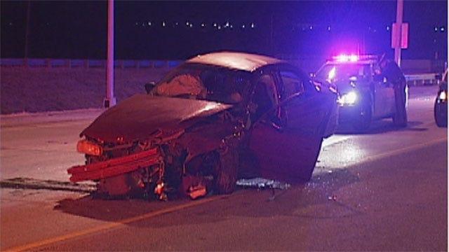 Parts Of I-35 Back Open After Car Crash In Edmond