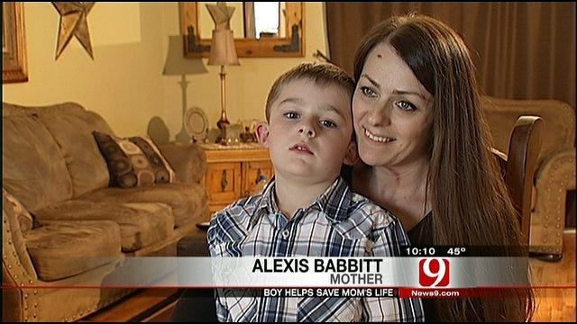 Six-Year-Old Credited With Saving Bridge Creek Mom's Life