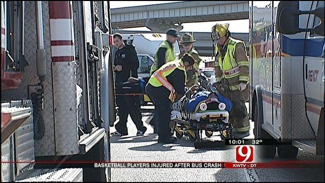 Student Athletes Hurt In Shawnee Bus Crash