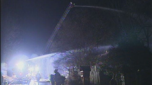 Candle May Have Started Fire That Burned Two Houses In Northwest OKC
