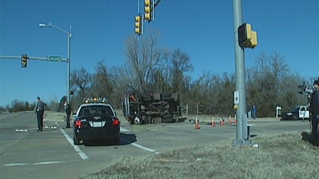 Driver Dies Following Crash With OG&E Truck