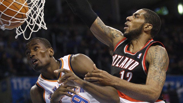 Thunder Drop Second Straight With Loss To Trail Blazers