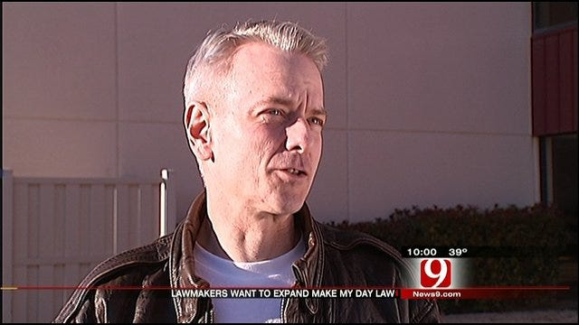 Oklahoma Lawmaker Supports Expanding 'Make My Day' Law