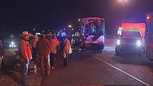 Bus Crash In OKC Sends 16 To Hospital