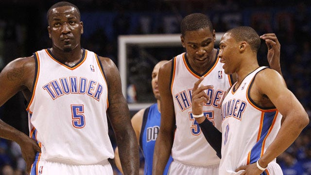 Five Thunder Players Featured On All-Star Ballot