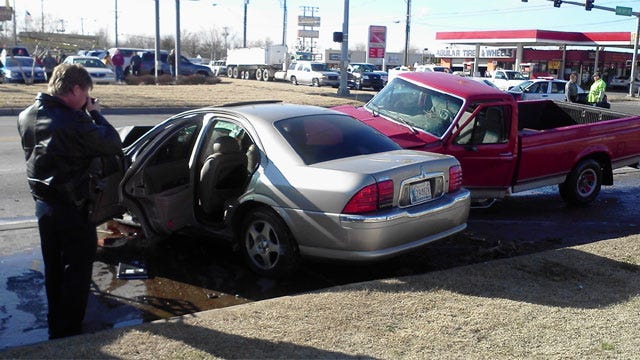Fleeing Suspects Try To Run After Causing Crash In Southwest OKC