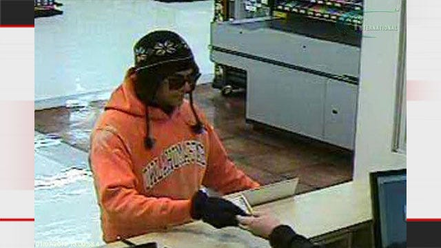 Note-Passing Robber Hits MWC Bank Of Oklahoma