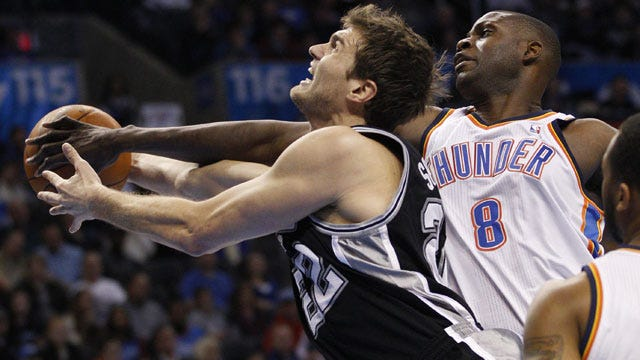 Oklahoma City Thunder Rout Spurs To Win Third Game In Three Days