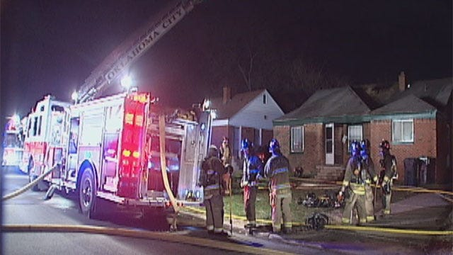 Early-Morning Fire Damages Northeast OKC House