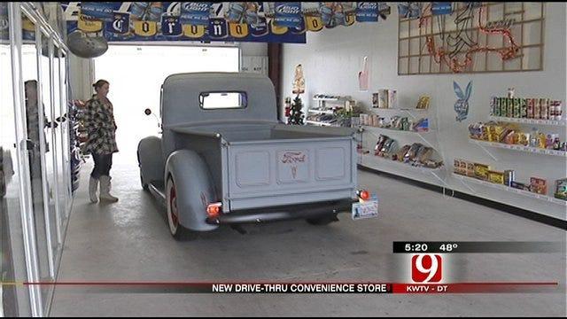 Unique Norman Store Re-defines 'Drive-Through'