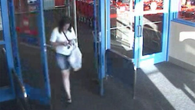 OKC Police: Woman Goes On Shopping Spree Minutes After Swiping Purse