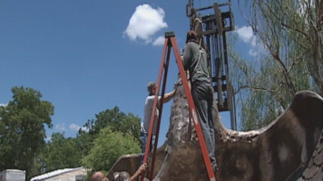 Major War Memorial Finally To Be Completed In Norman