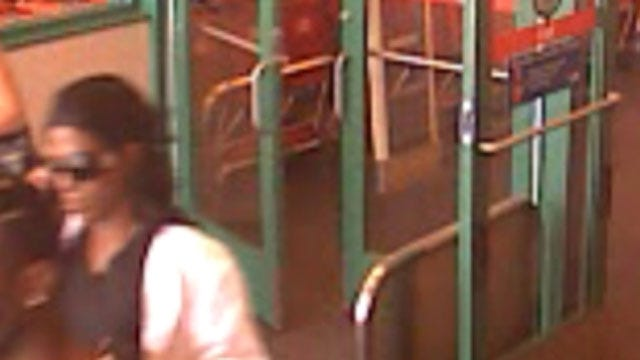 OKC Police Search For Suspected Credit Card Thief