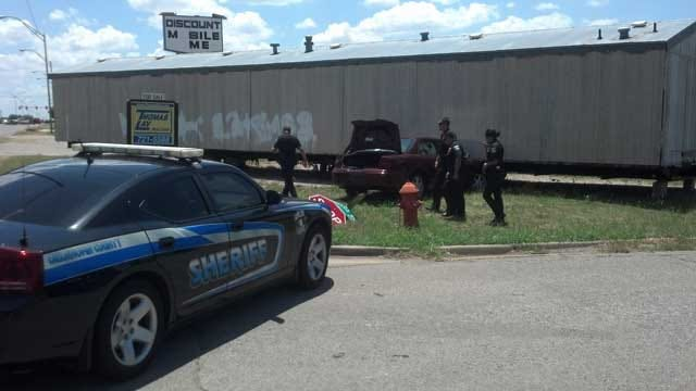 Suspect Arrested After Near-Crash With Deputy, Pursuit In OKC