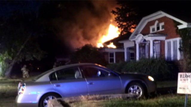 Man Found Dead Inside Burned OKC Home