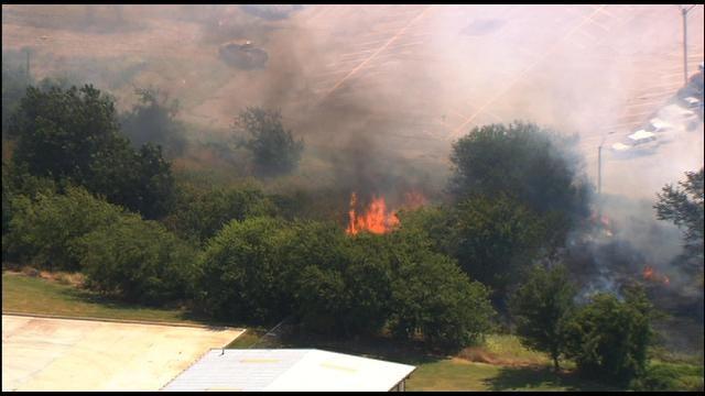 Grass Fire Near OKC Airport Under Control